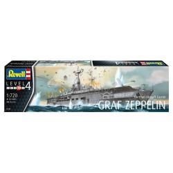 German Aircraft Carrier GRAF ZEPPELIN - Revell - 05164 - lotniskoweic