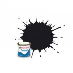 Humbrol 021 Black Gloss - 14ml
